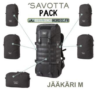 Savotta Jääkäri M - Noir - Pack personnalisable