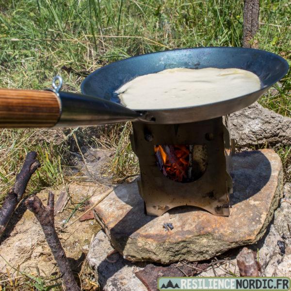 Poêle à frire crêpe happy stove