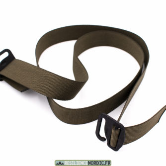 Sangle d'attache + 2 TG-Hook - Olive
