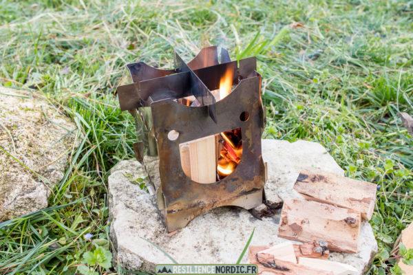 Savotta happy stove feu