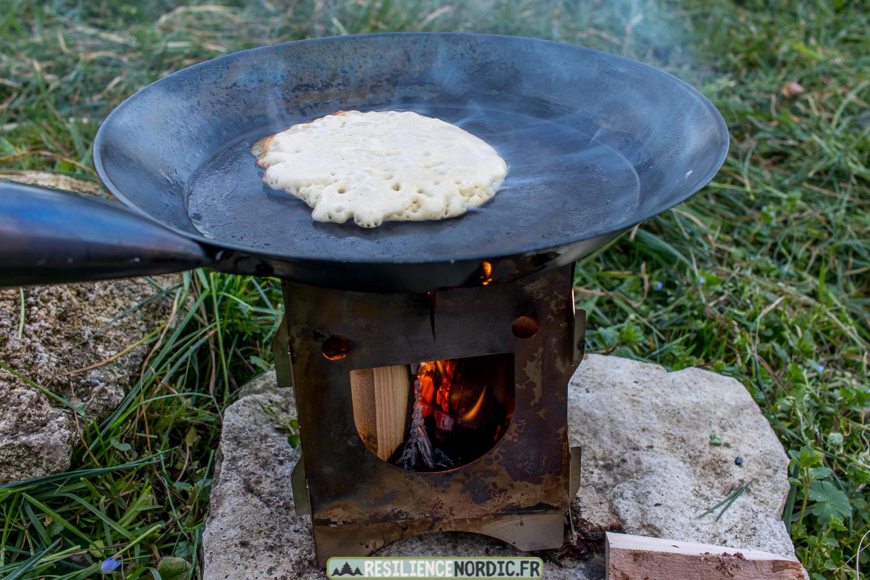 Poêle à frire pâte à pancake bulle