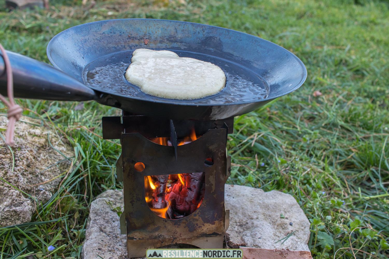 Poêle à frire pâte à pancake