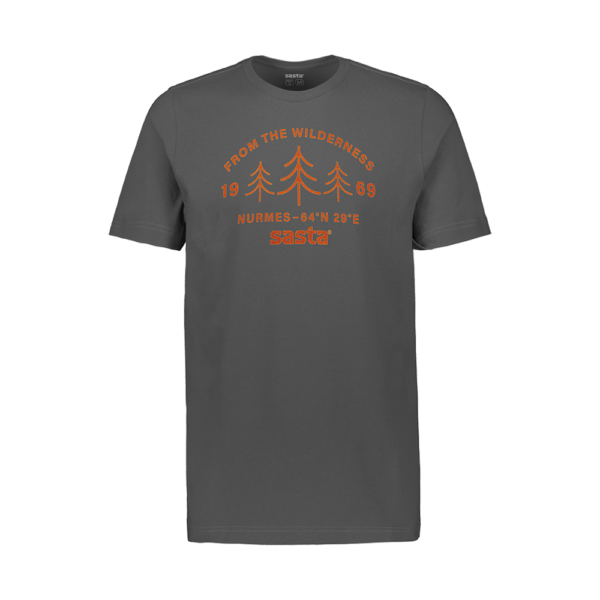 SASTA - T-shirt Wilderness - Gris