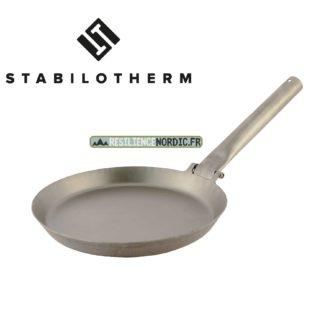 Stabilotherm - Jägarstekpanna - Poêle à frire manche tube