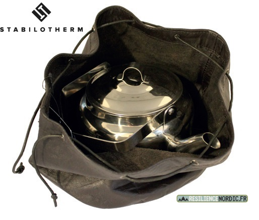 Stabilotherm - Sac en cuir pour bouilloire