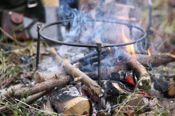 FinnRover - Support à feu pour poêle Kyyrö (petite)