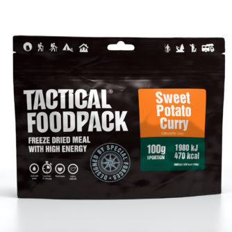 Tactical FoodPack - Curry de Patate Douce - 100g