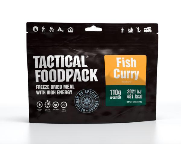 Tactical FoodPack - Curry de Poisson et riz - 110g