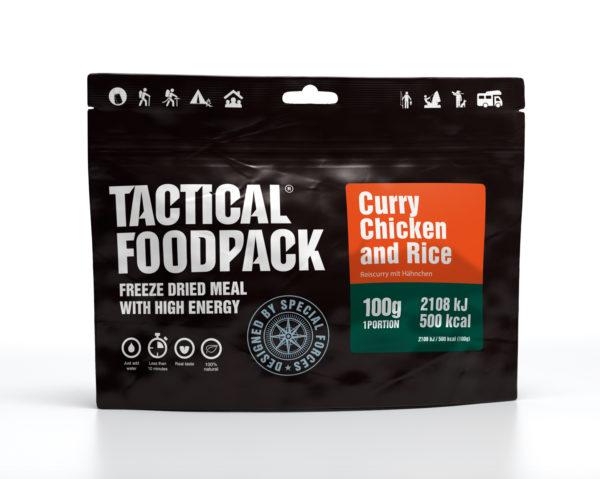 Tactical FoodPack - Curry de Poulet et Riz - 100g