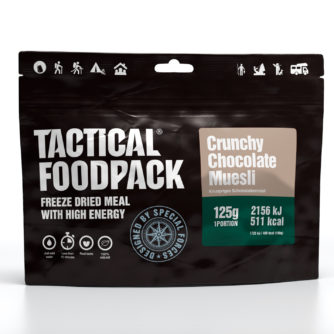 Tactical FoodPack - Muesli Crunchy Chocolat - 125g