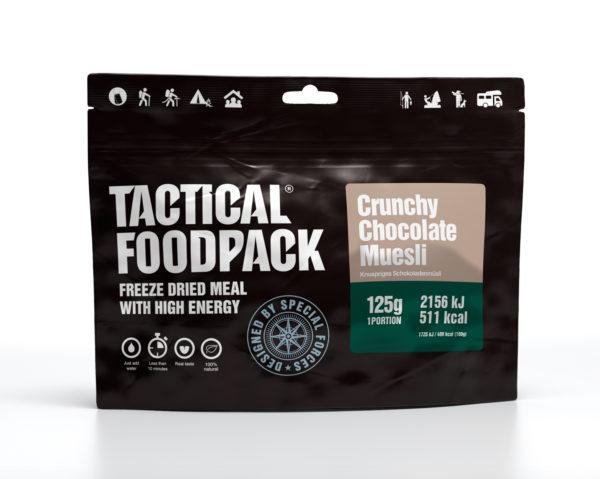 Tactical FoodPack - Muesli Crunchy Chocolat - 125g