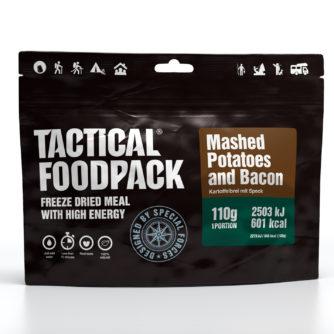 Tactical FoodPack - Purée de pomme de terre et bacon - 110g