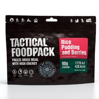 Tactical FoodPack - Riz au lait et framboises - 90g