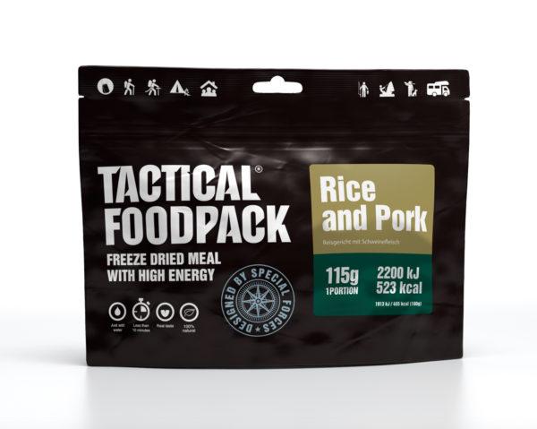 Tactical FoodPack - Riz et Porc - 115g