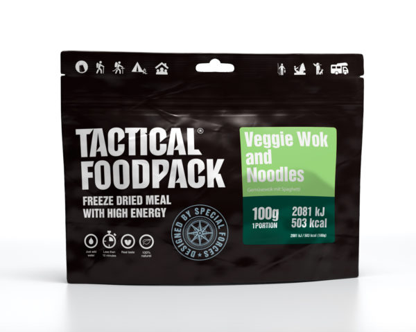 Tactical FoodPack - Wok de Légumes et Nouilles - 100g