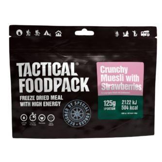 Tactical FoodPack - Muesli Crunchy Fraises - 125g