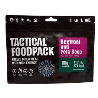 Tactical FoodPack - Soupe de betteraves et Feta - 60g