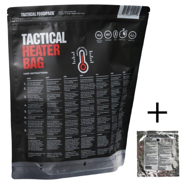 Tactical FoodPack - Tactical Heater Bag + Pad